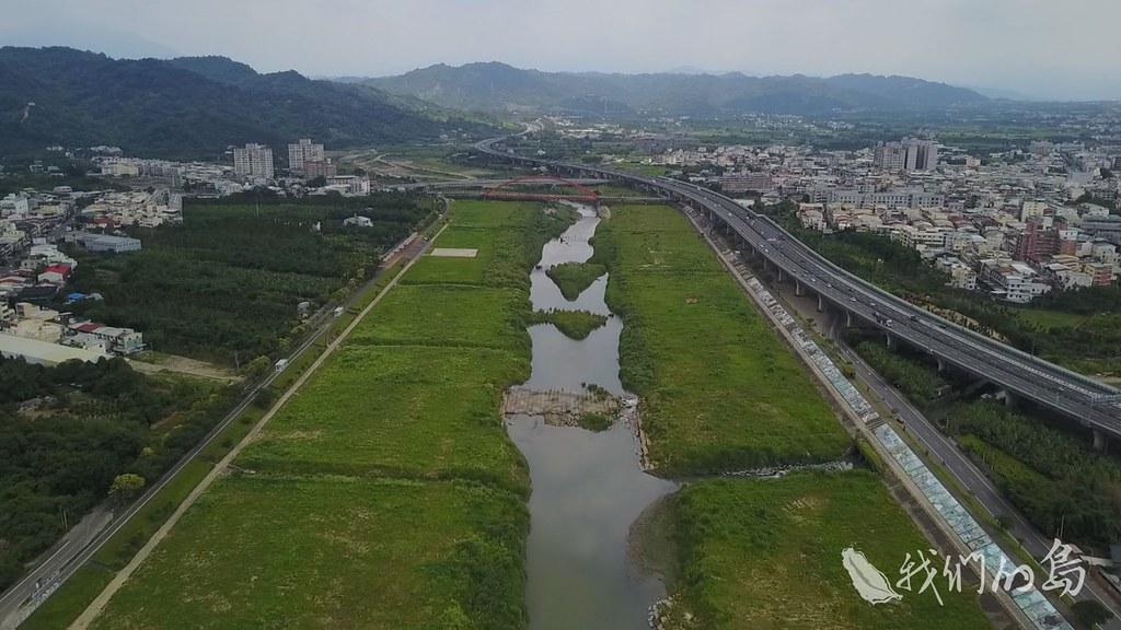 前瞻計畫中的水環境改善計畫,全國各縣市有三十多條河川、圳排,進入整治。