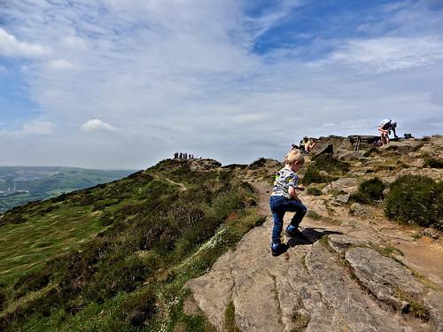 Stepping onto Winhill Pike