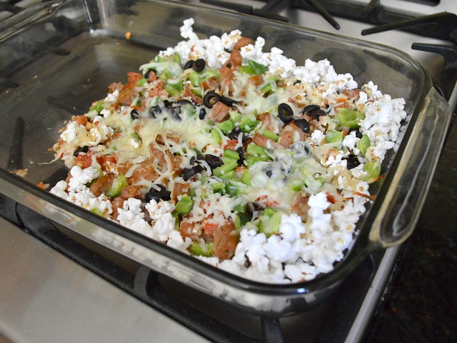 Experimental Cooking Popcorn Nachos