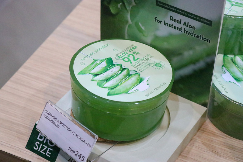 Raid My Closet: Korean Skincare Haul (Nature Republic Uptown BGC)