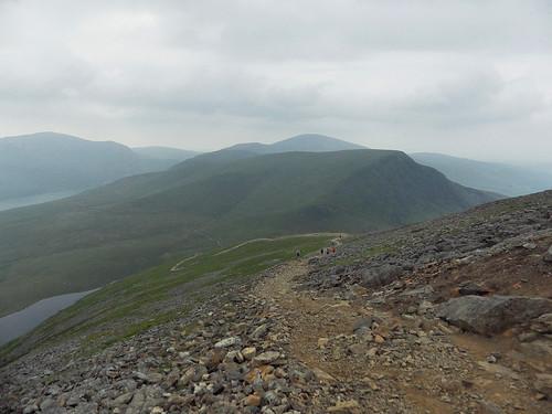 Descending the Snowdon Ranger Path