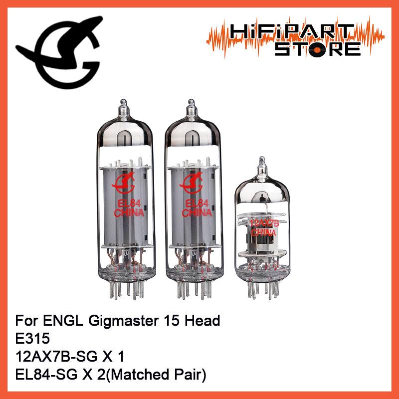Shuguang Tube set for ENGL Fireball 100 E635