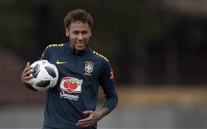 Neymar右腳手術過後未傷癒完全,不過已準備為祖國出征。(AFP授權)