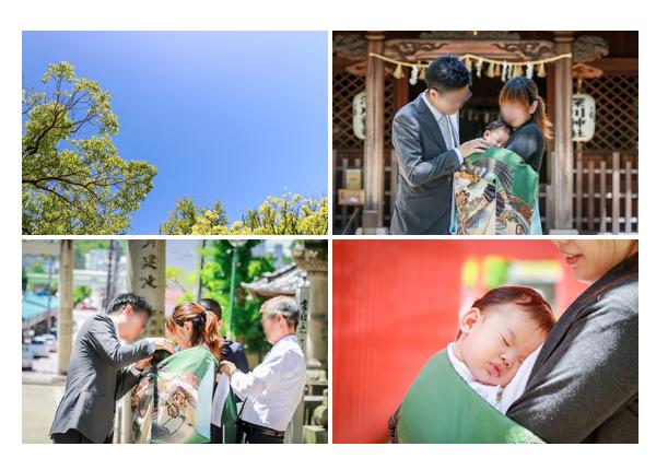 家族写真カメラマンが撮るお宮参り・愛知県瀬戸市の深川神社