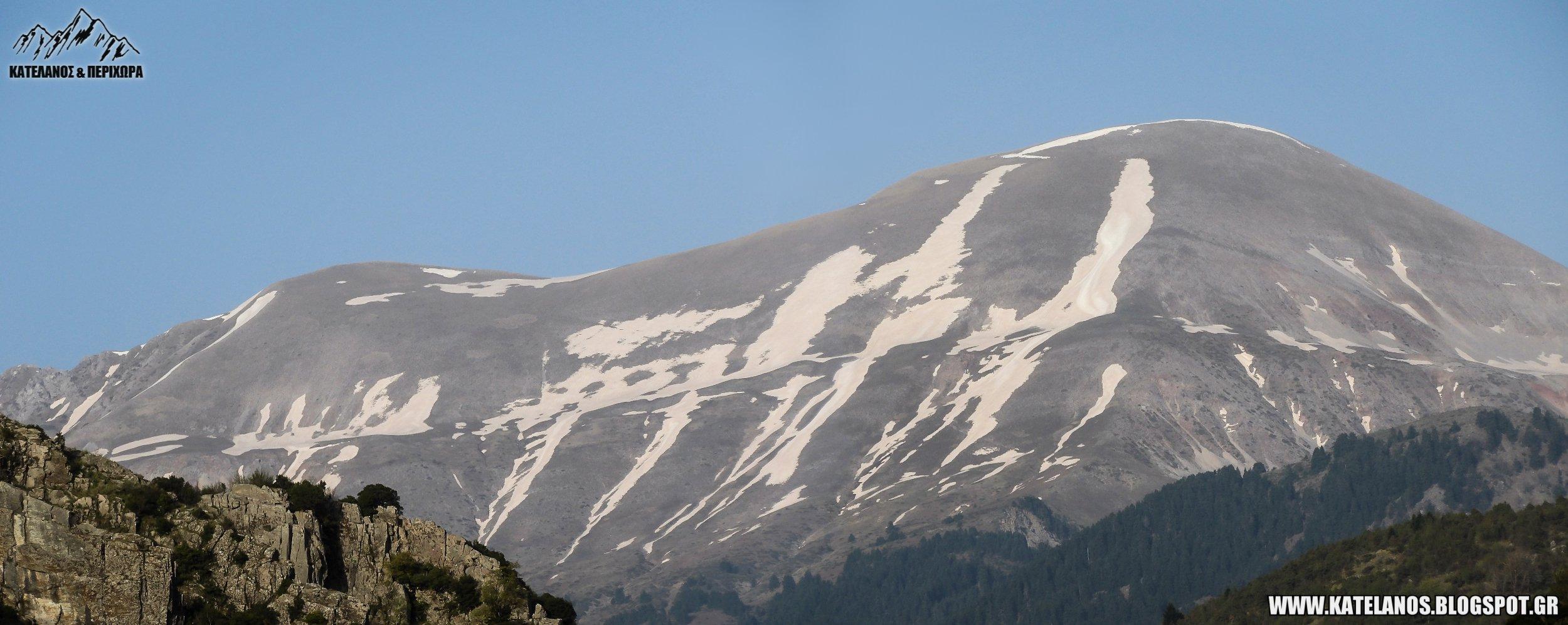 βουνο αυγο νοτιας πινδου τρικάλων χιονουρες