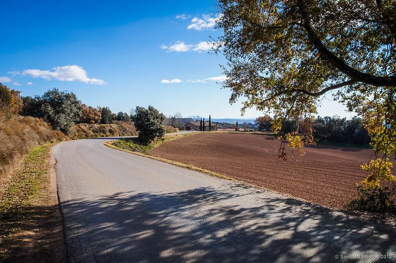 Carretera de Avià a Graugés