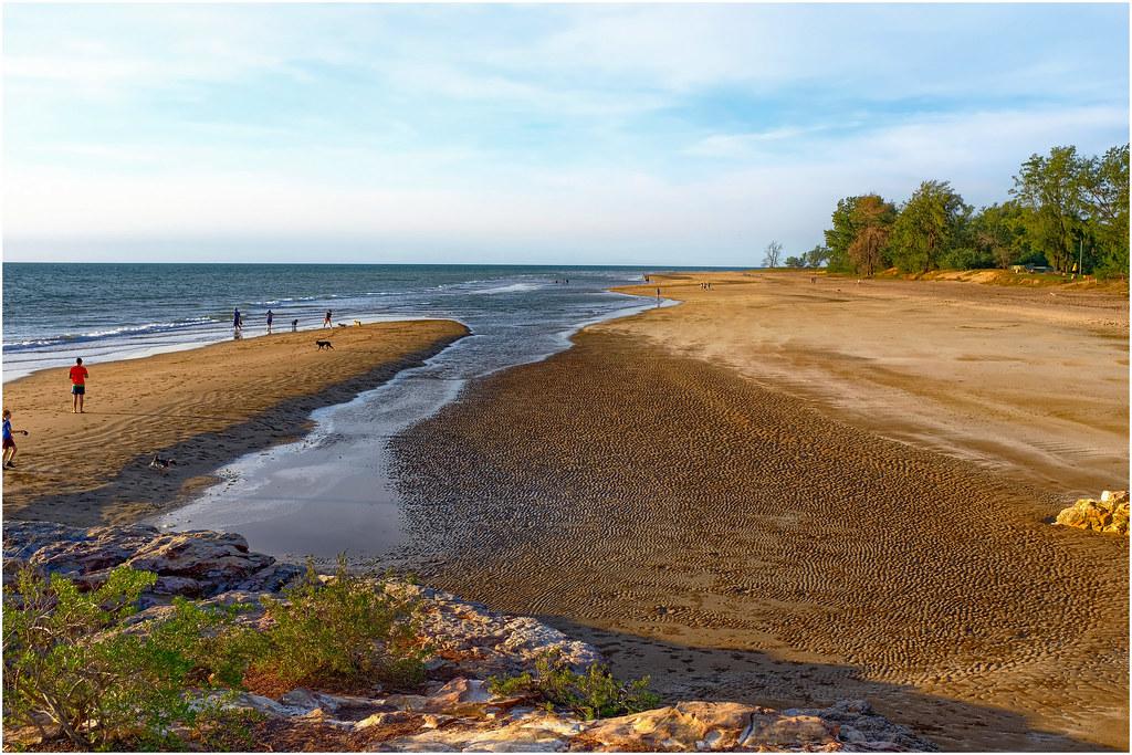 Casuarina Beach Sunset, Darwin, Northern Territory, Austra