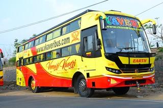 VKaveri Travels - bus