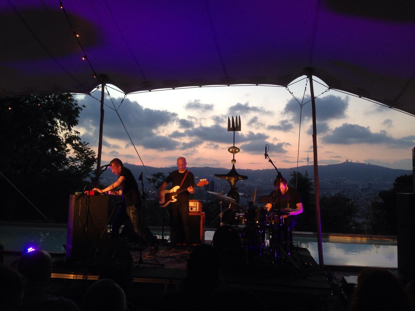 A la recerca de l'aventura - Concert de Fire! a la Fundació Joan Miró