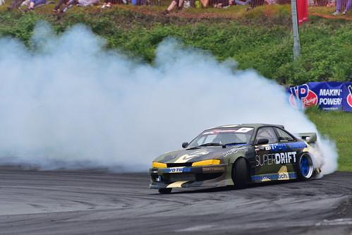 Mark Webb, British Drift Championship, Teesside 2018