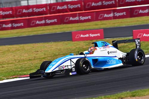 Raúl Guzman, Formula Renault Eurocup, Silverstone 2018