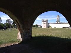 Вид на монастир з-під печі
