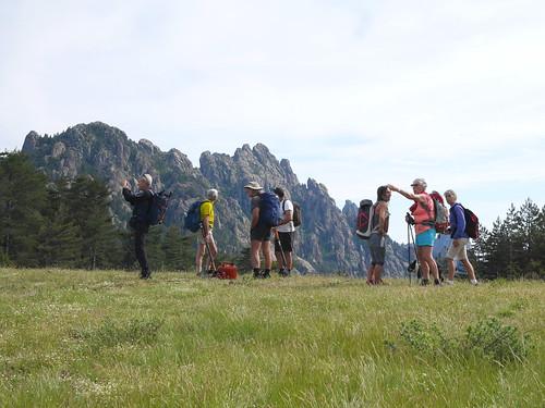 Bocca di Castedducciu : le groupe des bénévoles