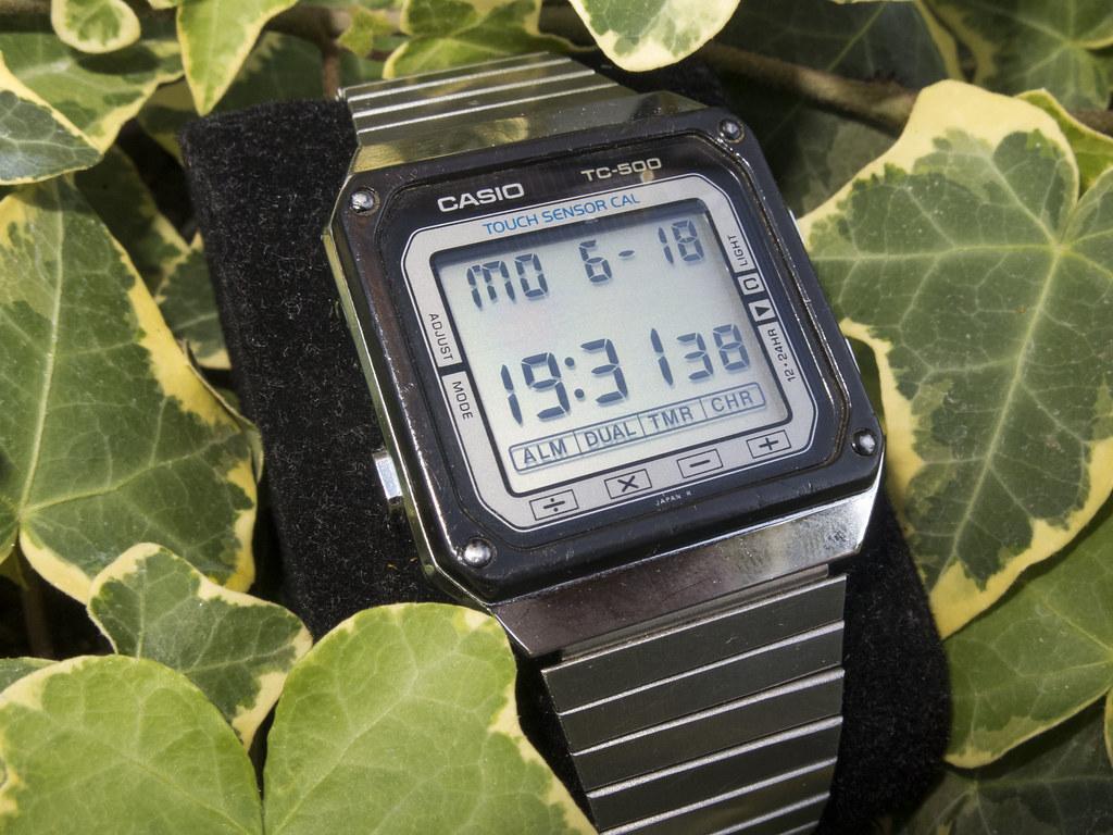 Tc De Relojes Los Casio Origen 500El HYD2IEW9