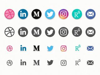 The 25 Best Free Beautiful Social Media Icon Packs for 2020 5