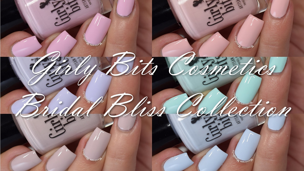 Girly Bits Polish Bridal Bliss Collection