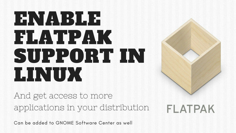 use-flatpak-linux