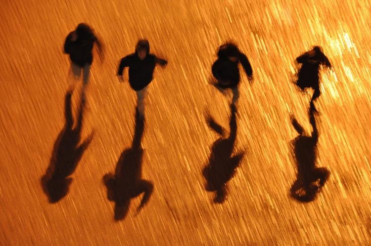 Fotografia em Palavras: Sombra a cores