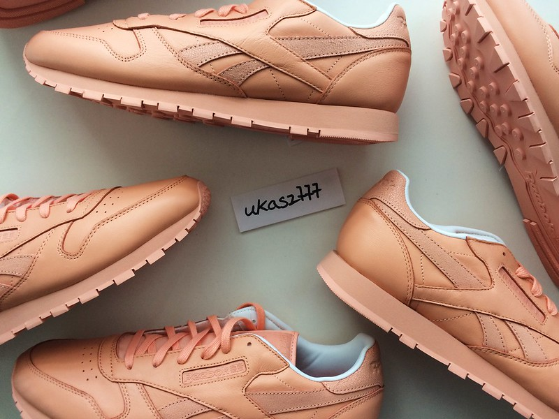 Details about Reebok x Face Stockholm CL Classic Leather Spirit 12 9.5 10.5 peach pink V69386