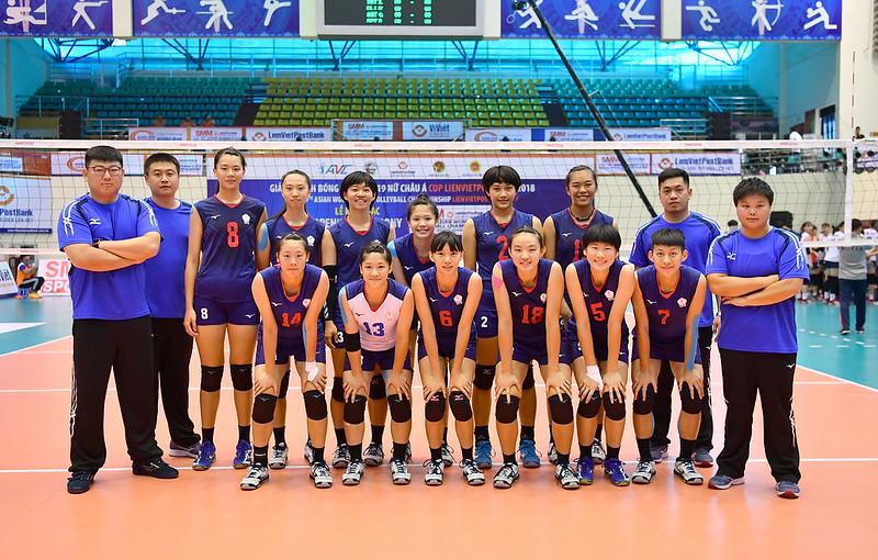 U19台灣女排。(資料照,AVC提供)