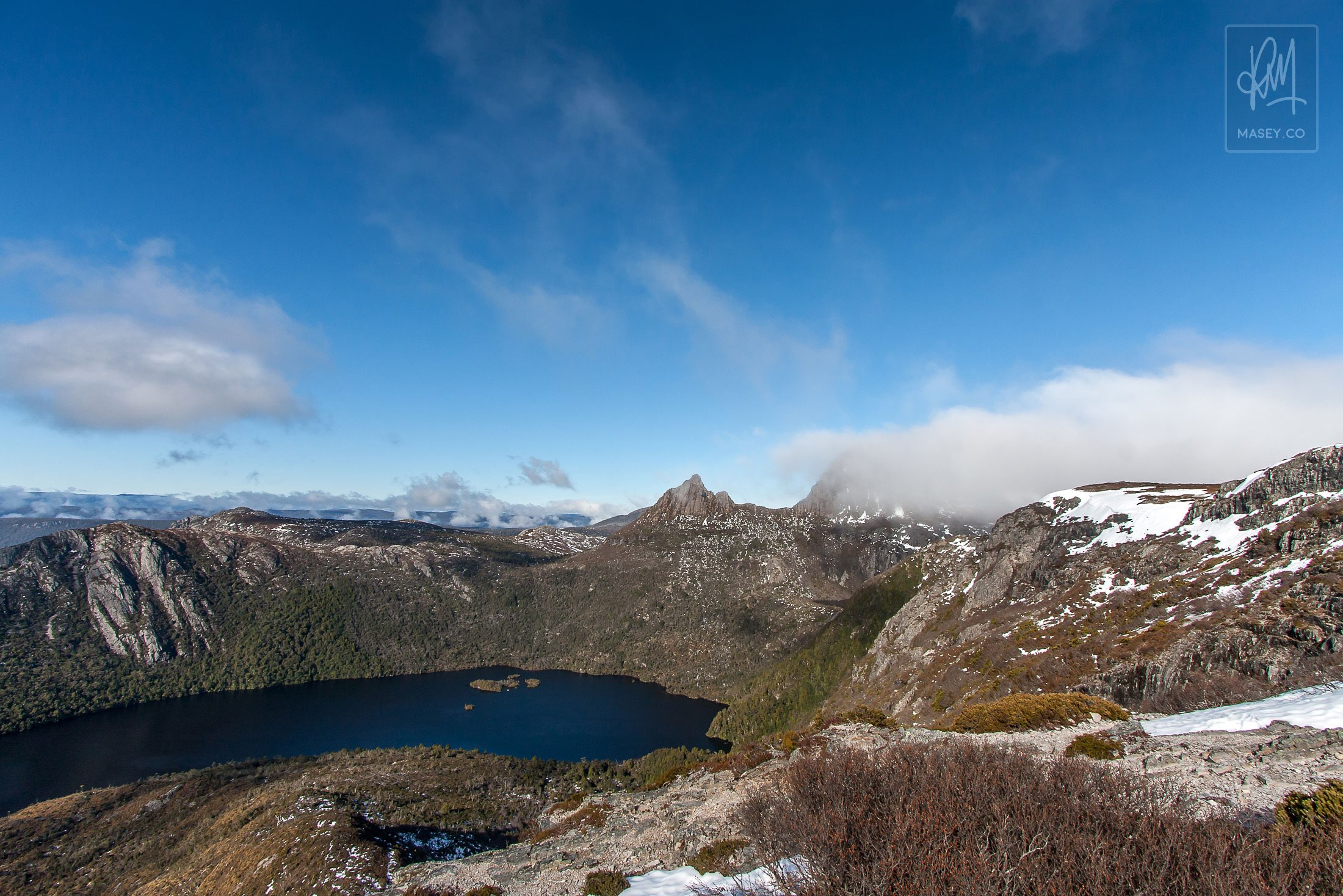 Views over Cradle Mountain