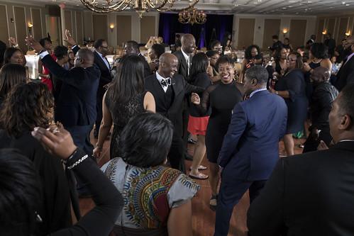 Attendees at Black Alumni Weekend