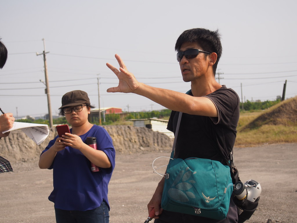 台南社大環境研究小組晁瑞光。攝影:陳宣竹。