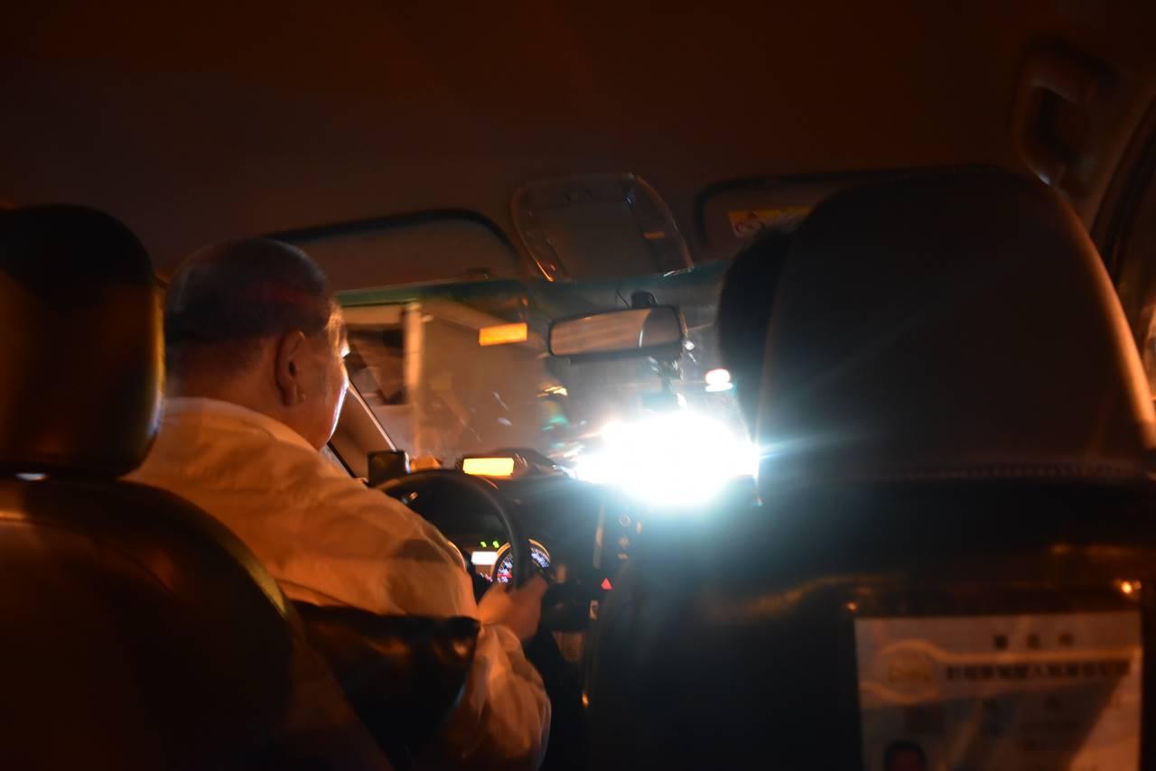 台湾・タクシー