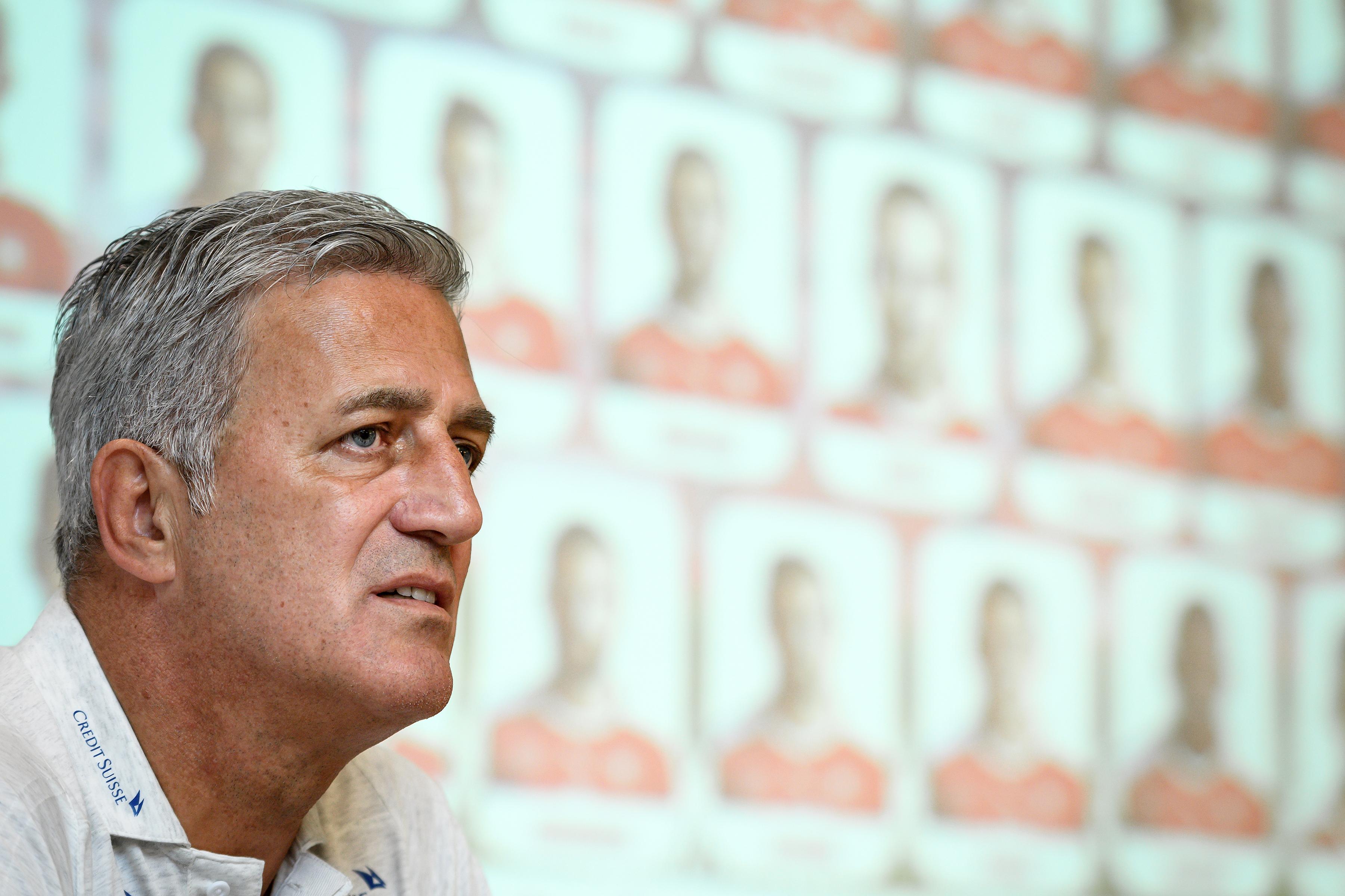 Vladimir Petkovic宣布瑞士世界盃23人名單。(AFP授權)