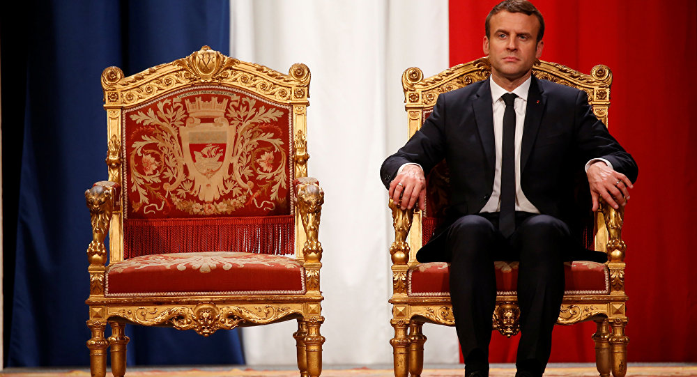 法国总统艾曼纽·马克宏。(图片来源:维基百科)