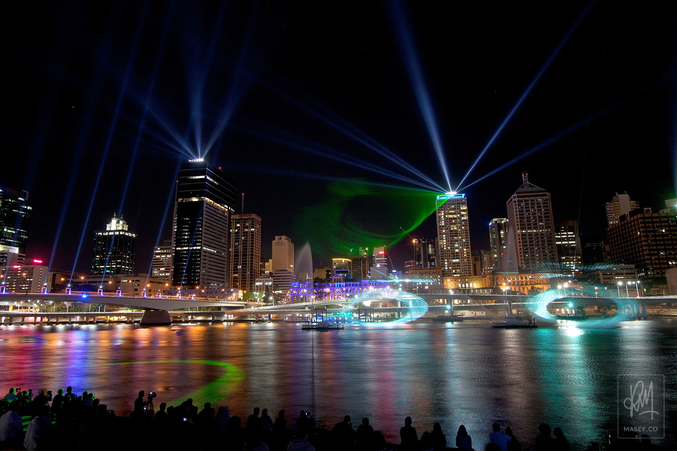 City of Lights Laser Show