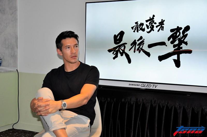 陳昌源表示期待能和更多人互動。(張哲郢/攝)