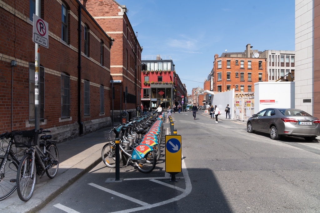 DUBLIN BIKES DOCKING STATION 01 [HAS BEEN RELOCATED TO CLARENDON ROW] 002