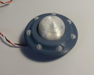 Busy Lamp - ausgedruckter funktionierender Prototyp