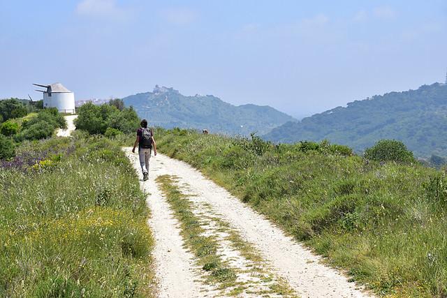 Moinho route Palmela, Portugal
