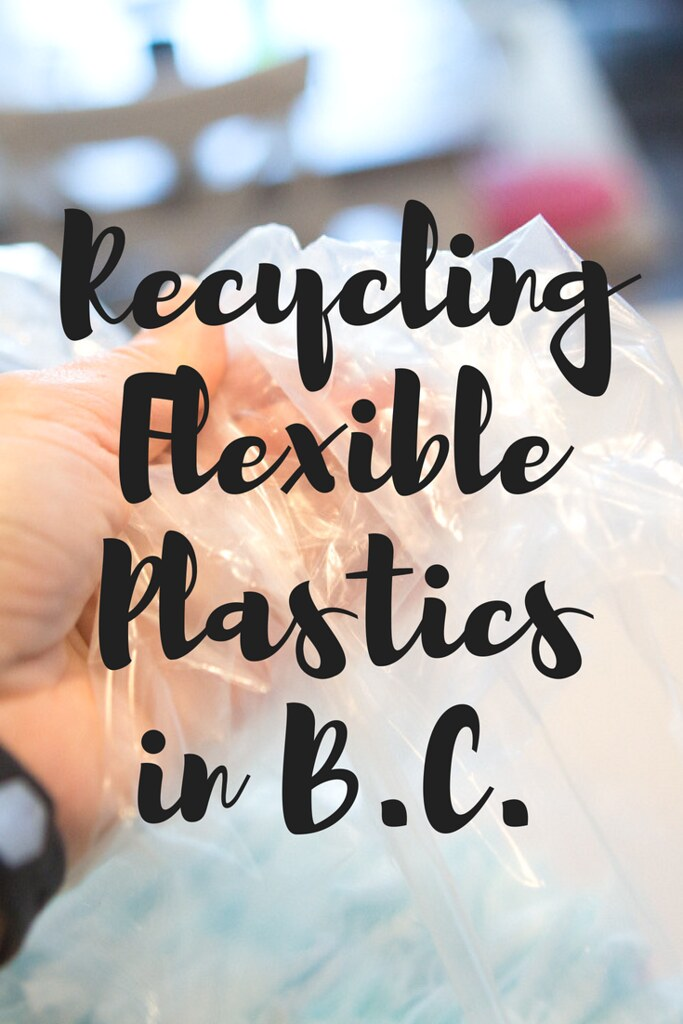 What are the rules for recycling flexible plastics in B.C.?