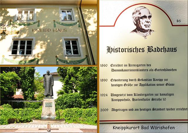 Mai 2018 ... Kurstadt Bad Wörishofen ... Auf den Spuren von Sebastian Kneipp ... Fotos: Brigitte Stolle