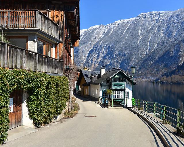 Mirador del pueblo de Hallstatt