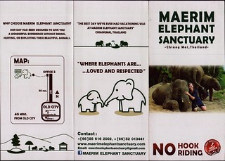 Maerim Elephant Sanctuary Brochure 1