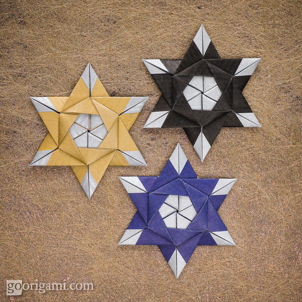 Modular Origami Stars   Modular Origami Stars (Maria ... - photo#49