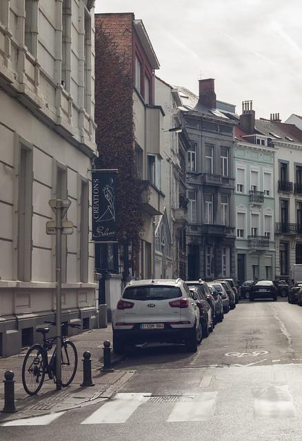 Uliczka Brukseli