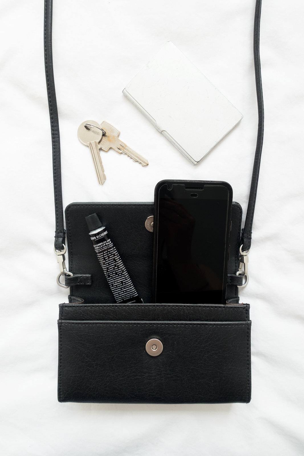 A Minimalist's Bag With Matt & Nat