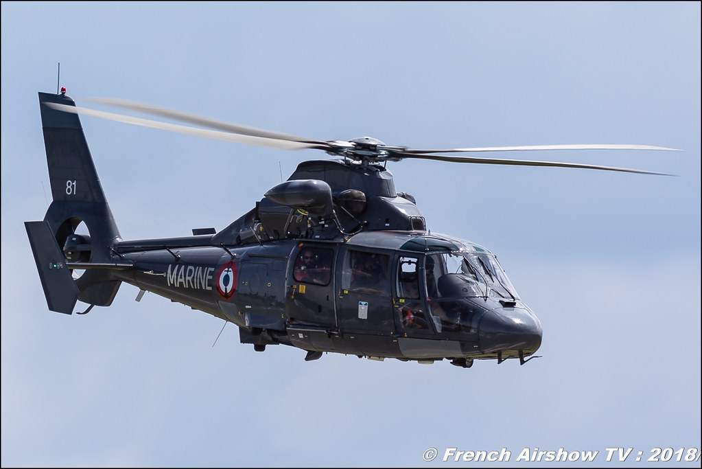 Hélicoptère AS365 Dauphin Marine National , 32e édition d'Airexpo Muret-Lherm , Airexpo Muret 2018 , Canon EOS , Sigma France , contemporary lens , Meeting Aerien 2018