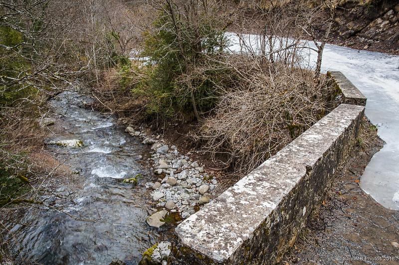El Bastareny desde el Pont de Monnell