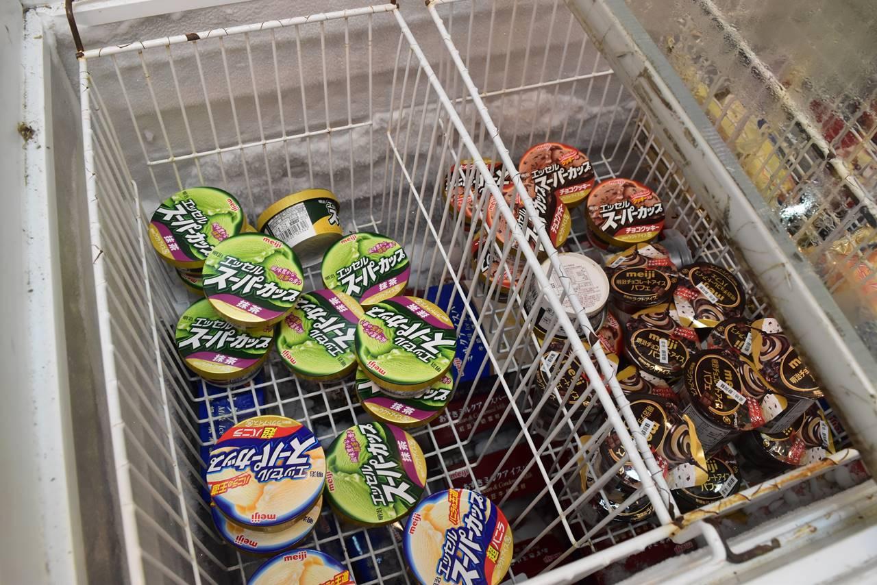 武陵農場の売店で売られていたスーパーカップ