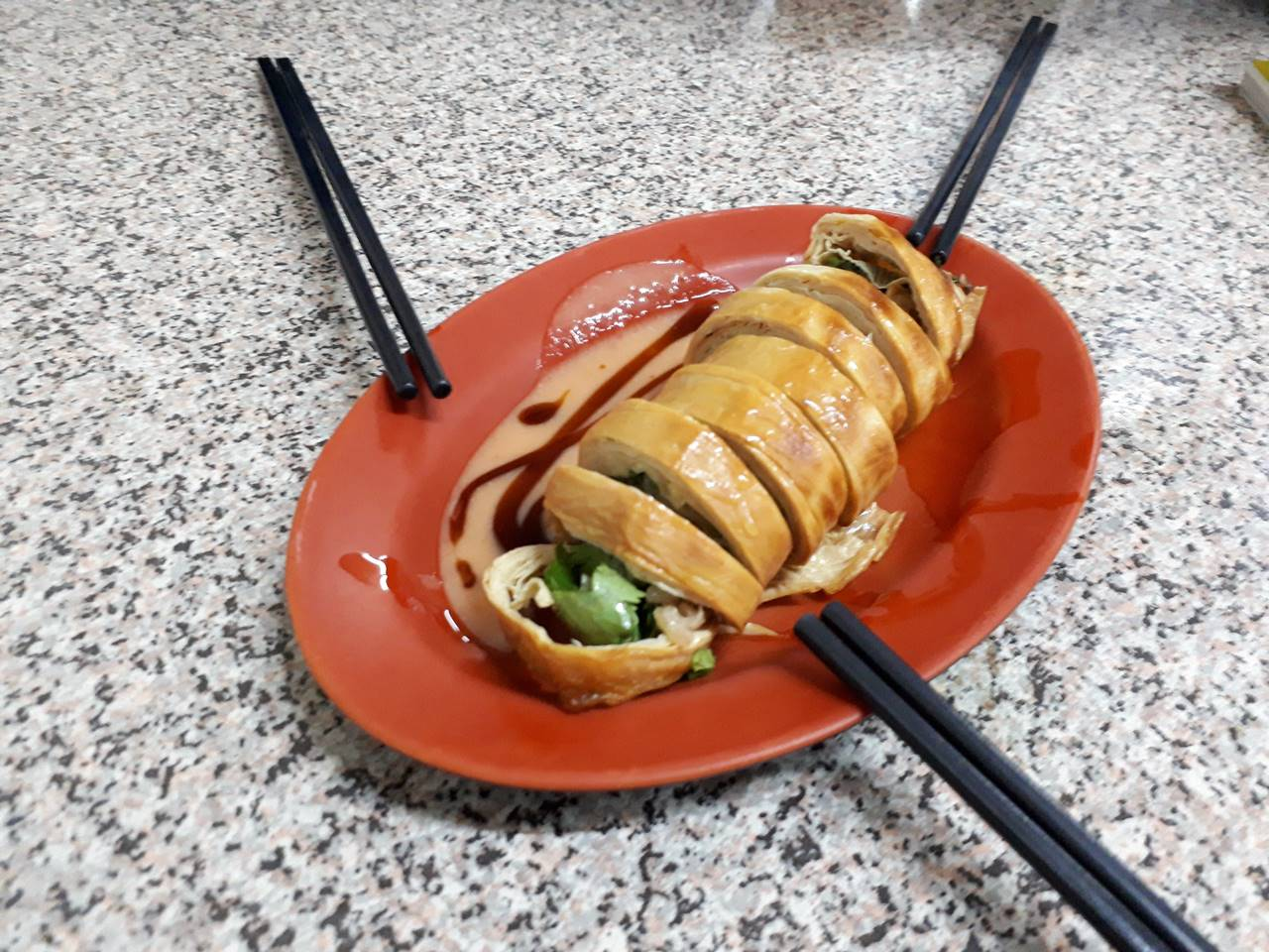 台湾・肉巻き