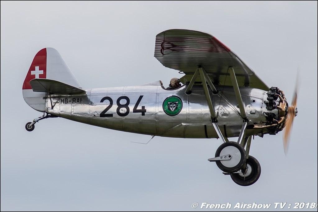 Dewoitine D-26 - HB-RAI , 32e édition d'Airexpo Muret-Lherm , Airexpo Muret 2018 , Canon EOS , Sigma France , contemporary lens , Meeting Aerien 2018