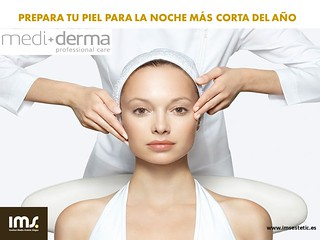 Tratamiento facial iluminador en ims Sitges