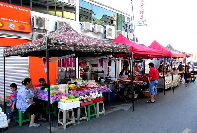 Pasar Malam stalls, Chinese