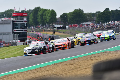 Nascar Whelen Euro Series, American SpeedFest VI, Brands Hatch 2018